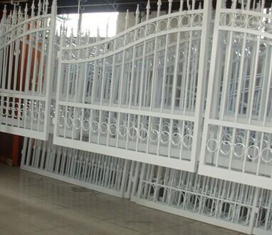 常州阳台护栏喷塑成品展示